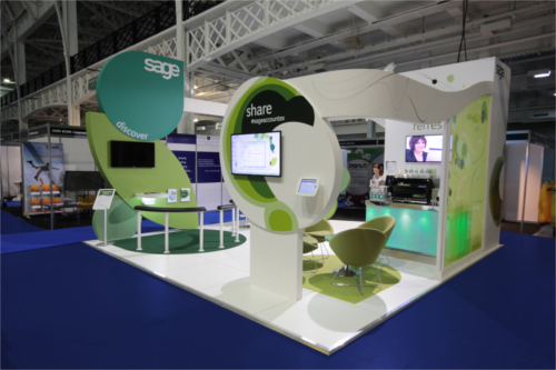 Modern Exhibition Booth : Images about trade show environmental displays on