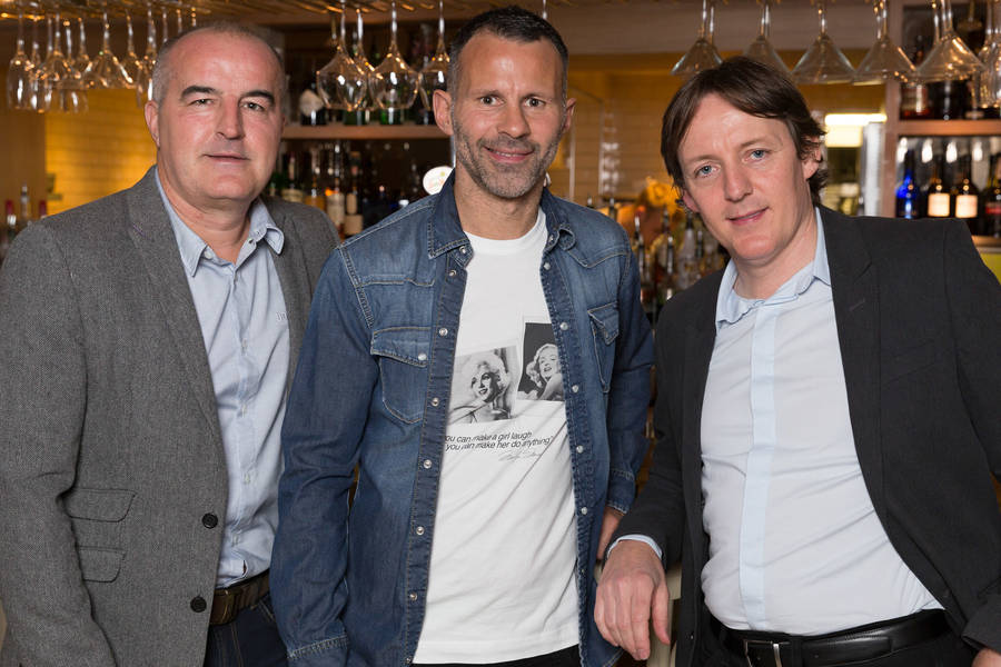 ryan giggs' co-owned restaurant, george's, is awarded its first aa