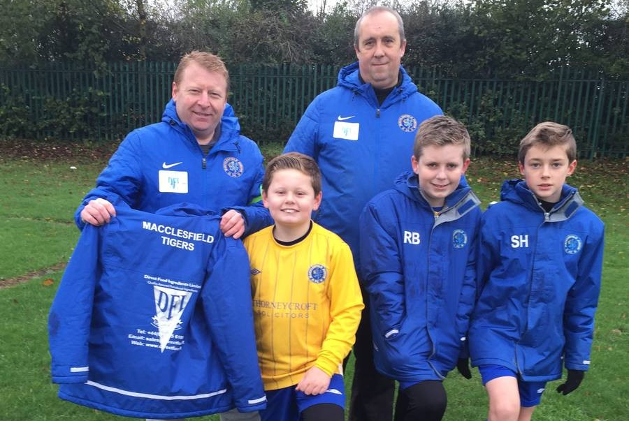 Direct Food Ingredients cheers on Macclesfield Tigers and