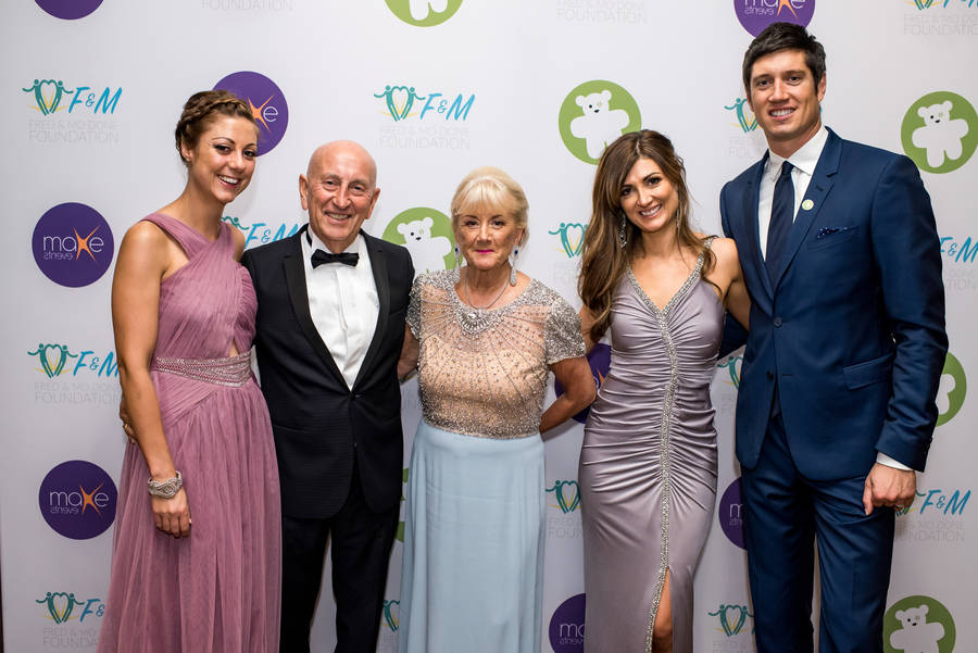 Vernon Kay hosts inaugural Fred and Mo foundation ball for