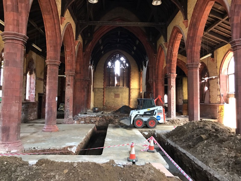 Work begins on St Augustines Site in Cheadle