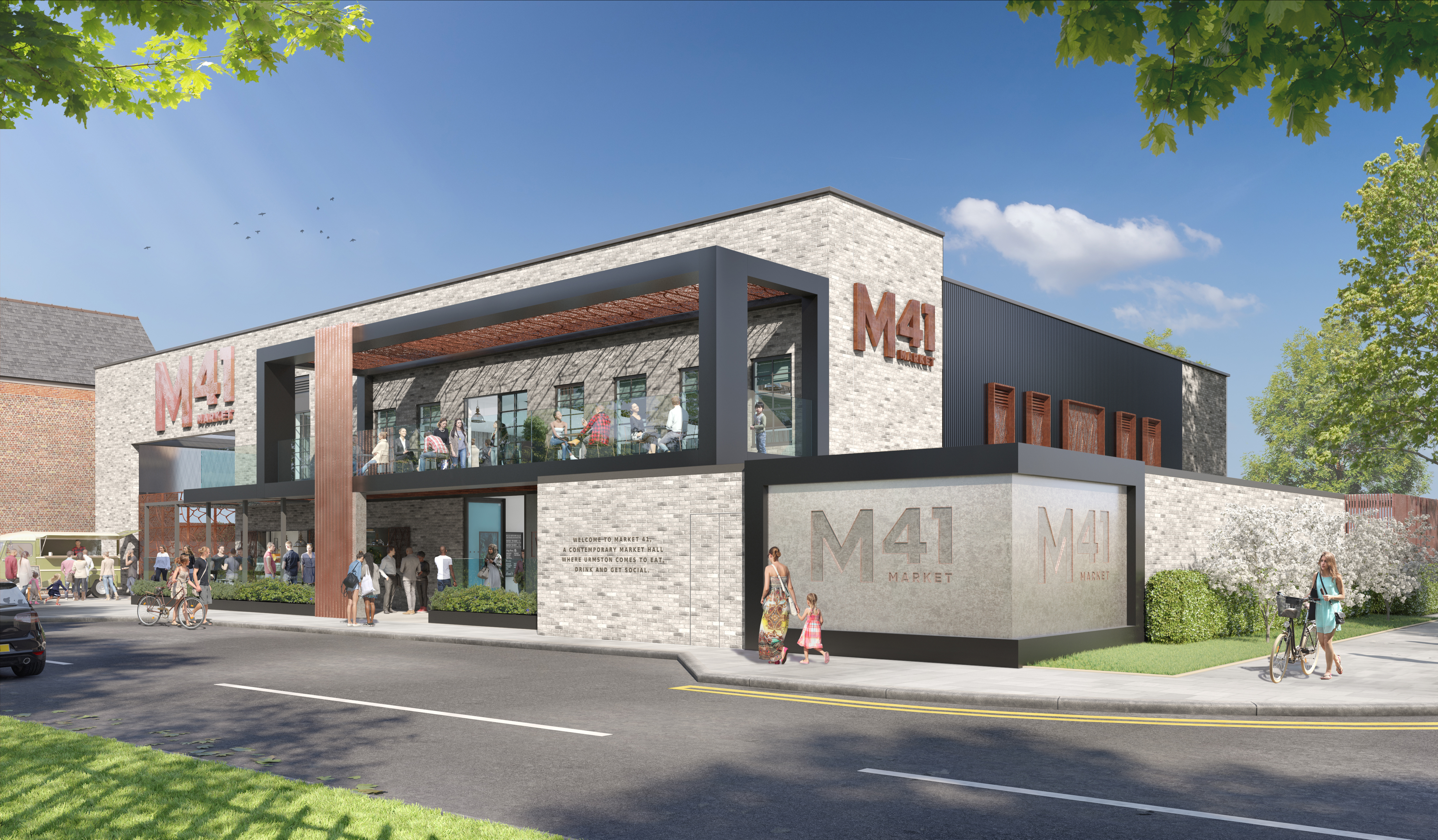 UK'S FIRST NEW BUILD FOOD MARKET HALL GETS GO AHEAD - Huddled